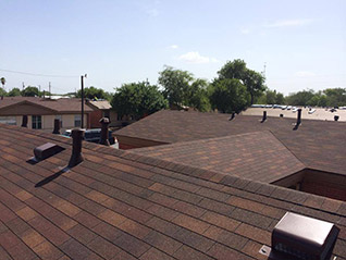Asphalt shingle roofing in Brownsville